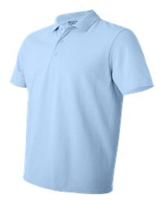 Picture of Custom Logo Embroidery DryBlend Pique Polo Shirt