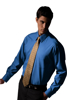 Picture of Free Embroidery Pinpoint long sleeve oxford dress shirt