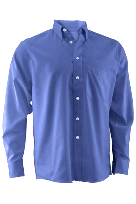 Picture of Free Embroidery Easy care long sleeve oxford dress shirt